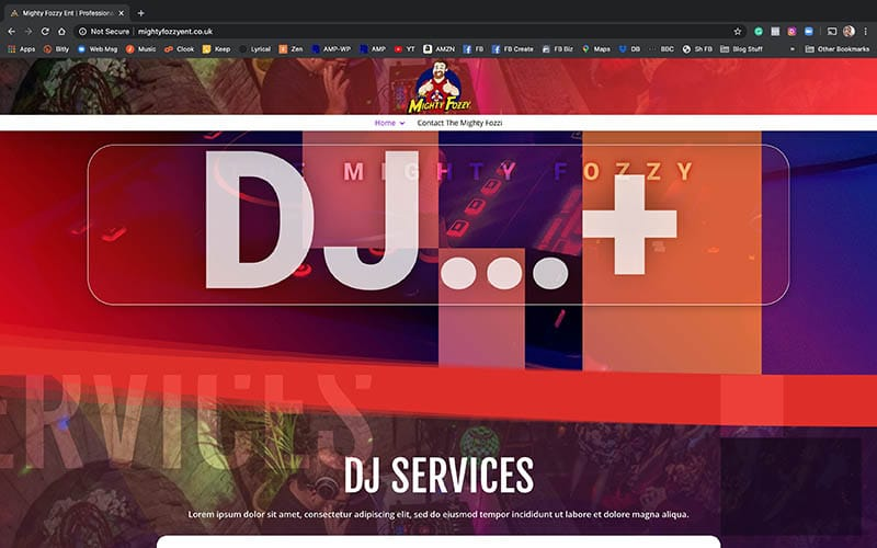 BrambleWebDesign-DJ-Website